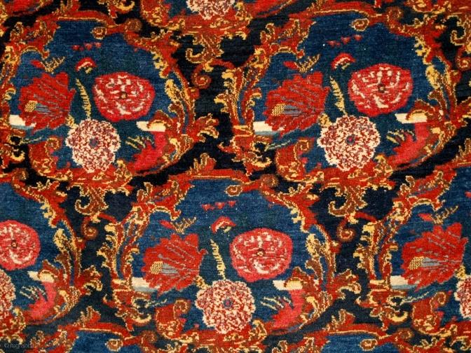Фрагмент персидского ковра в